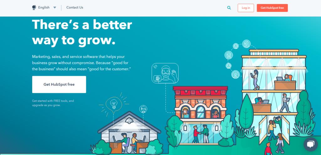 Najlepsze narzędzia do automatyzacji marketingu w 2020 roku - hubspot
