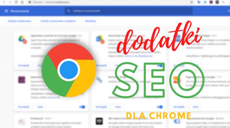 Dodatki SEO do Chrome
