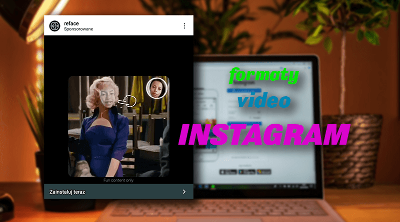 formaty video na Instagram